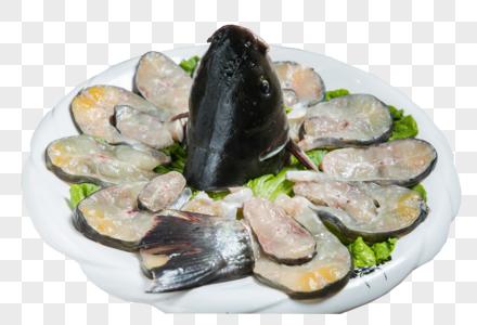 生鱼块图片
