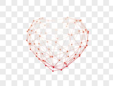 心型基因元素图片
