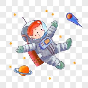 宝宝游太空图片