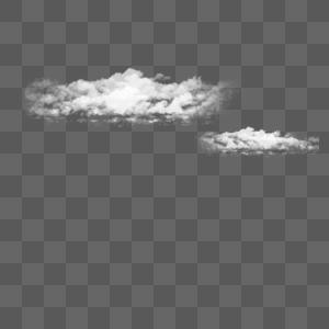 纯色云纹元素素材图片