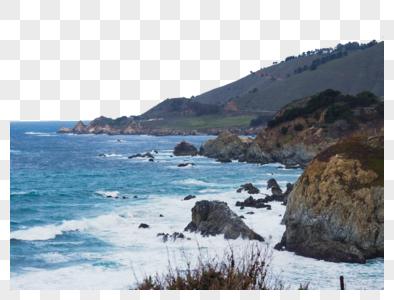 美国加州一号公路太平洋海景图片