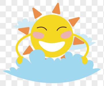 夏天太阳图片