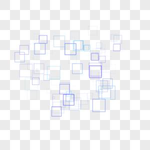 科技方形框图片