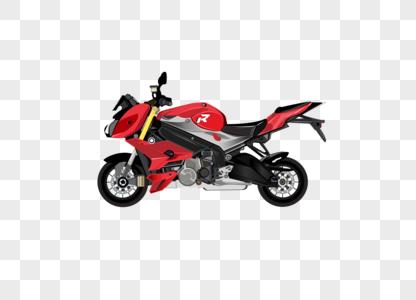 摩托车矢量图素材元素素材图片