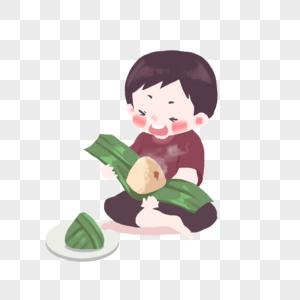 端午节吃粽子图片