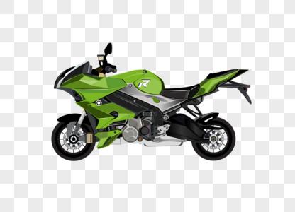 摩托车手绘元素素材矢量图图片