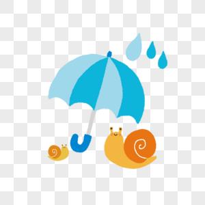 卡通小蜗牛图片