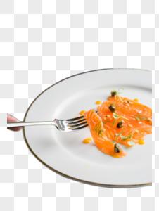 三文鱼薄片图片