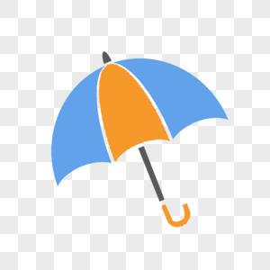 卡通长柄雨伞图片