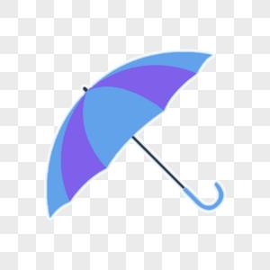 雨伞手绘卡通图片