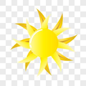 自然界精美太阳矢量图图片