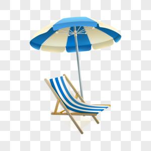 矢量太阳伞图片