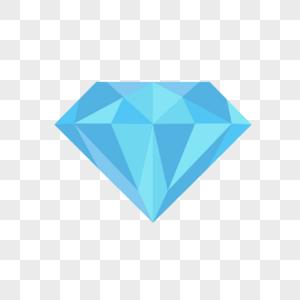 手绘蓝宝石钻石图片
