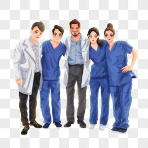 医务人员团队图片