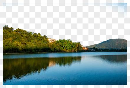 云南腾冲和顺古城自然风光图片