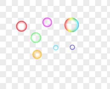 彩色泡泡图片