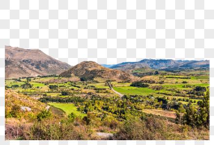 新西兰的高山平原图片