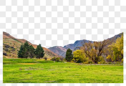 高山平原图片