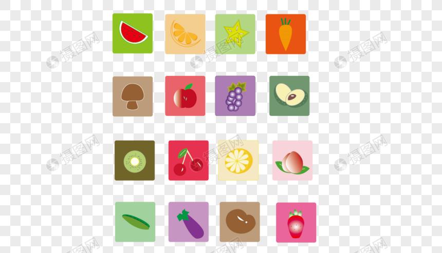 果蔬小标志图片