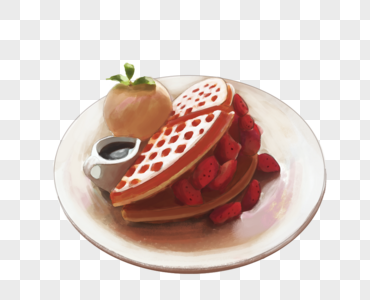 草莓派图片
