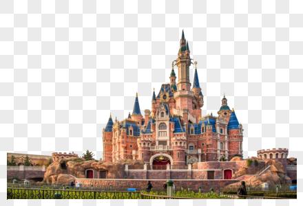 上海迪士尼城堡图片