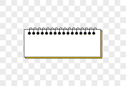 日历形状创意标题边框图片