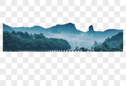 高山峻岭图片