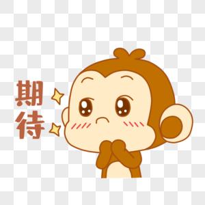 可爱小猴表情包图片