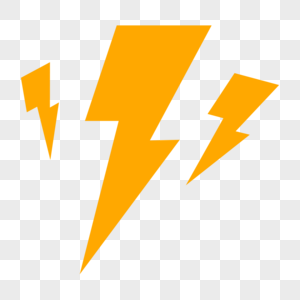 闪电元素图片