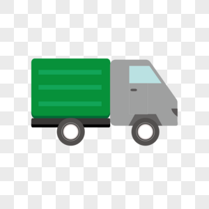 AI矢量图迷你小货车图片