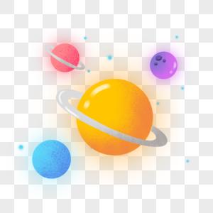 手绘小星球图片