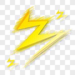 自然界闪电元素图片