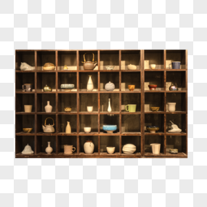 各式各样的陶罐图片