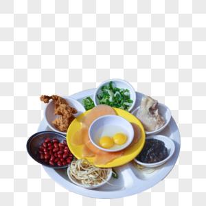 云南米线食材图片