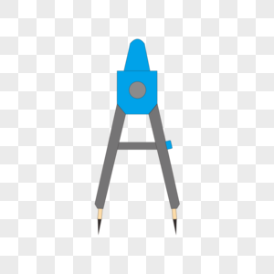 绘画工具圆规矢量图图片