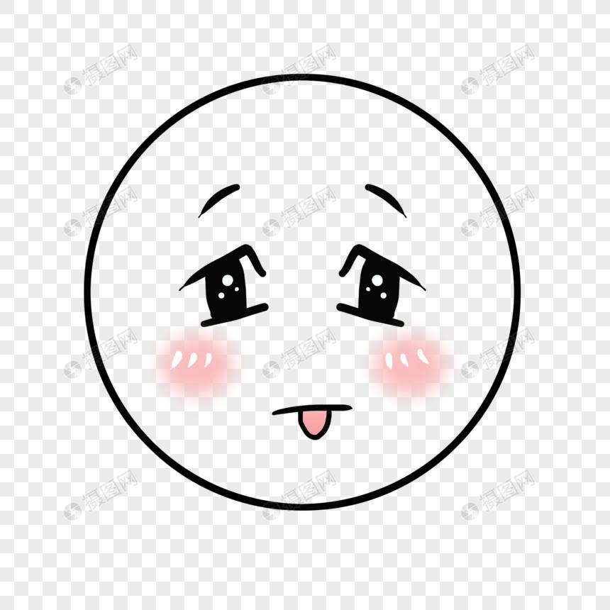 调皮表情元素表情psd格式_设计素材免费下载想钓鱼我素材包图片