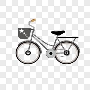 AI矢量图自行车图片