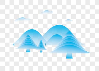 山川背景图片