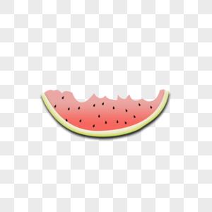 吃过的西瓜图片