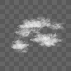 PSD云雾元素图片
