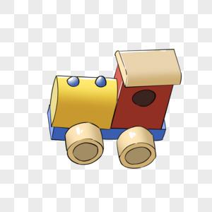 小火车玩具图片