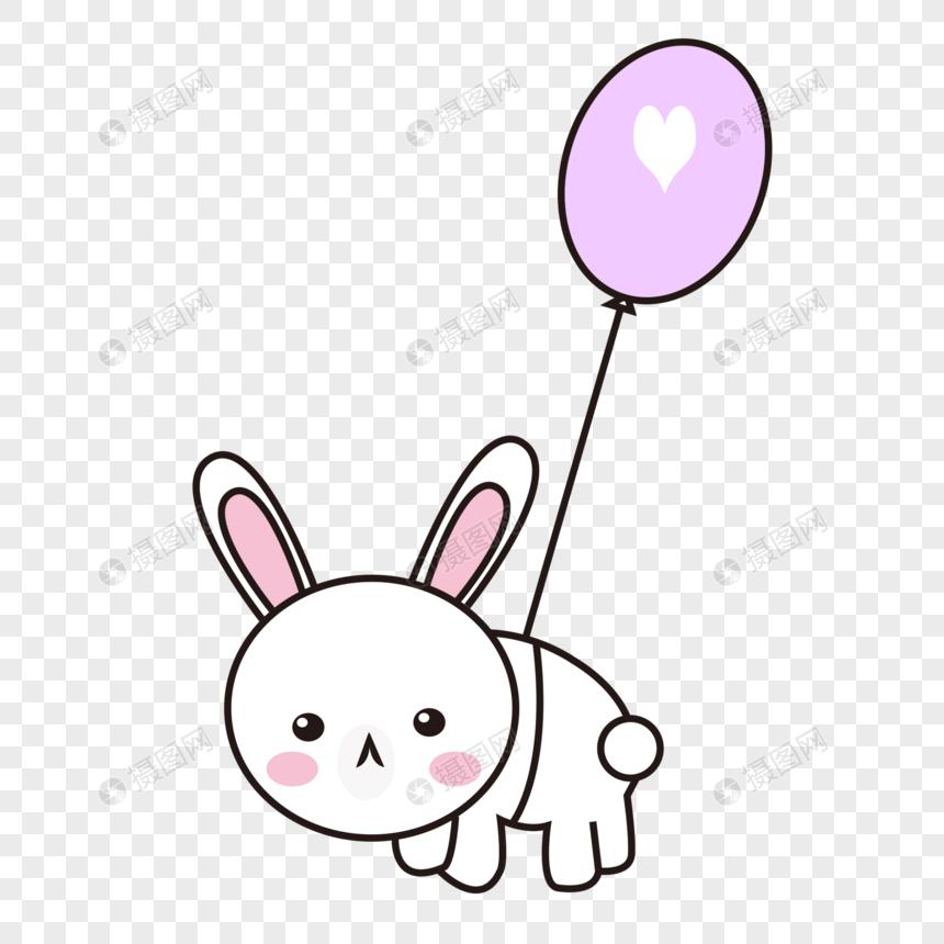 可爱表情图片兔子圆脸psd格式_设计素材免捂嘴哭的表情元素素材图片
