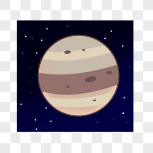 土黄色的星球图片