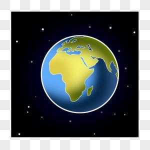 地球卡通图片