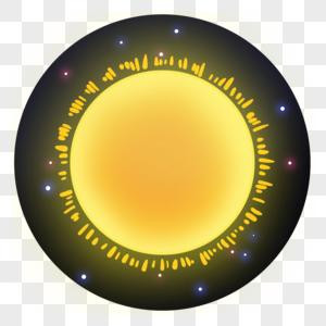 发光的恒星图片
