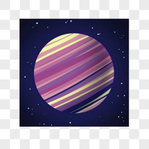 好看的多彩星球图片