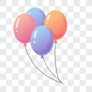 节日可爱气球图片