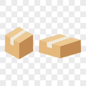 快递盒子箱子图片