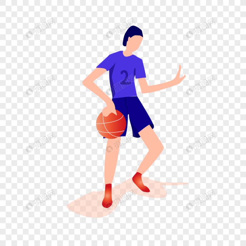 扁平化运动球员图片