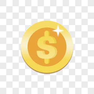 拟物古币金币图片